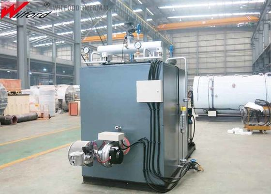 Low NOx Emissions  1000kg/H 1.0Mpa Fuel Gas Steam Boiler For Food Sterilization