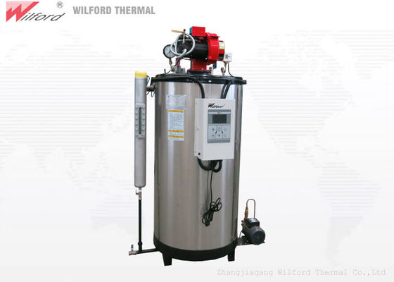 10bar Full Automatic 125kg/H Natural Gas Steam Generator For Food Processing